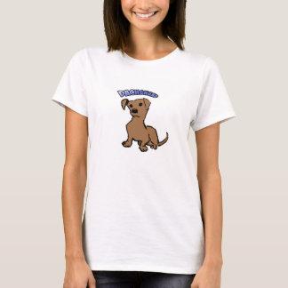t-shirt PET dachshund