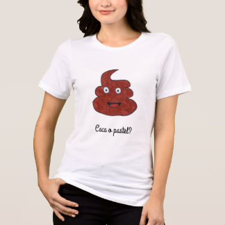 T-shirt poop or pie