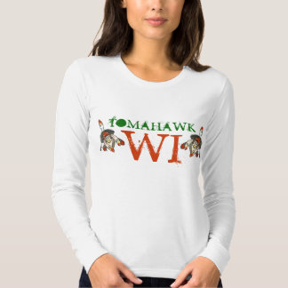 T-SHIRT PROMOTES TRAVEL TOURISM TOMAHAWK WISCONSIN