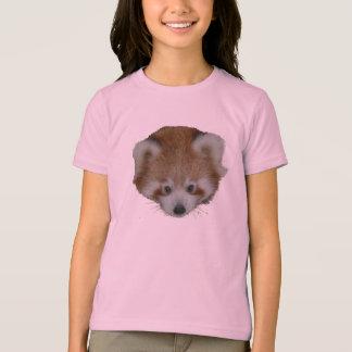 T shirt - red panda head