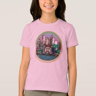 T-Shirt | Round Luna Park - Mauve Sky