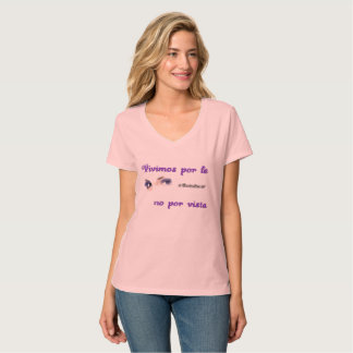 T-shirt/Rower We lived by Faith T-Shirt