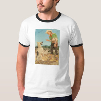 T-Shirt ROY ROGERS & BULLET The Dog Prairie Boots