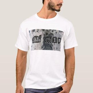 T-shirt Silver Hallmark logo on beaten silver