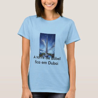 t-shirt speaking of Dubai