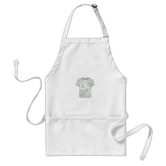 T Shirt Template- eco friendly Standard Apron