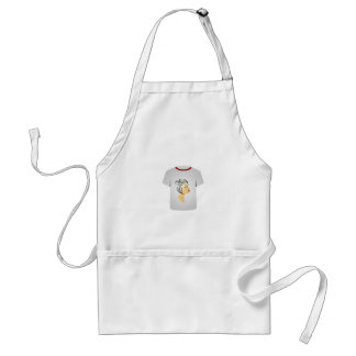 T Shirt Template- Hairstyle Apron