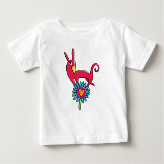 """T-shirt """"the red Small dog """""""
