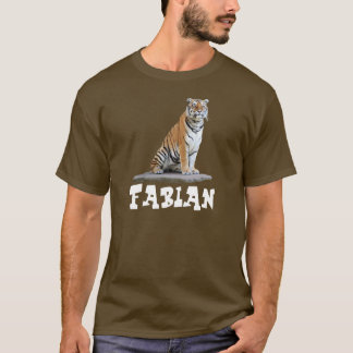 "T-shirt ""tiger"" Fabian"