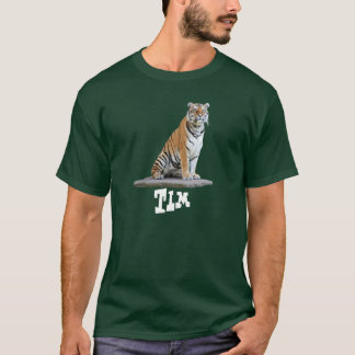 "T-shirt ""tiger"" Tim"