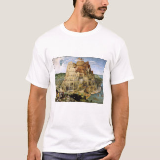 T-Shirt: Tower of Babel - Pieter Bruegel T-Shirt