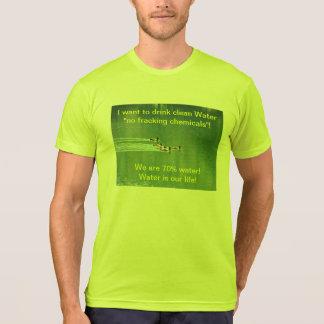 T-shirt (Unisex) with environmental slogan