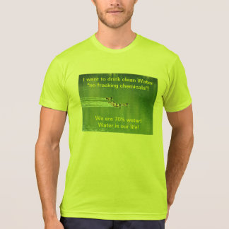 T-shirt (Unisex) with environmental slogan