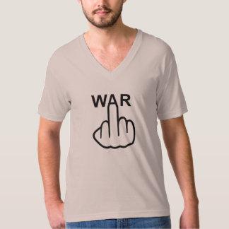 T-Shirt V-Neck War Is Horrible