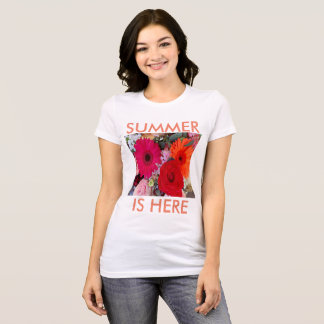t-shirt very cool to summer is here