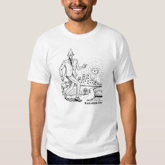 T-Shirt: Walking to Work T-shirt