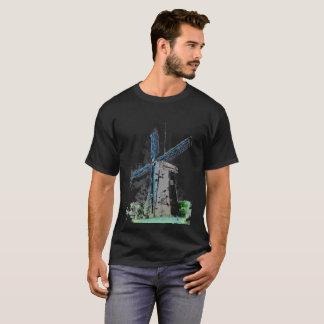 T-Shirt - Watercolored Windmill
