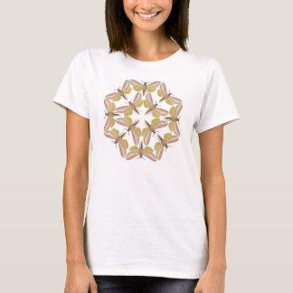 T-shirt with a beautiful hawk moth