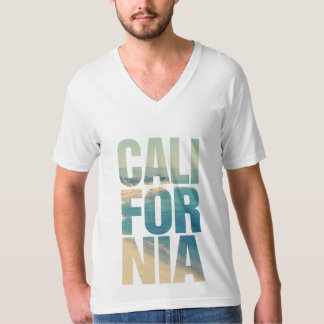 T-shirt with Californian illustration