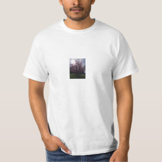 T Shirt with Cherry Blossom Tree