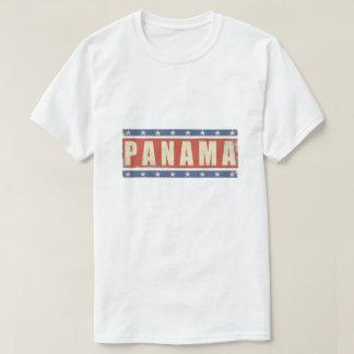 T-shirt with Cool Panama Flag Print