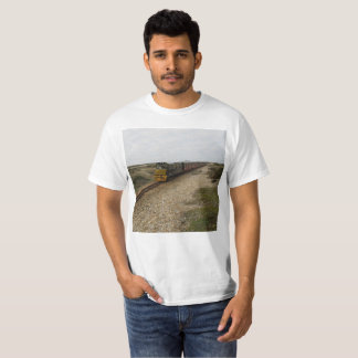 T-Shirt with Diesel Train Picture