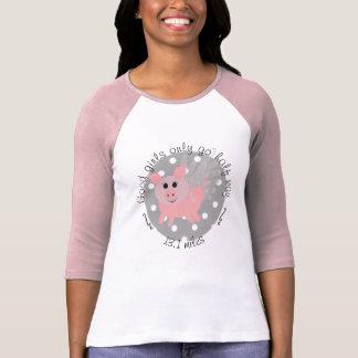 T-Shirt with Flying Pig emblem
