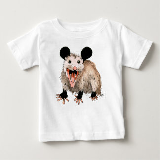 t-shirt with opossum