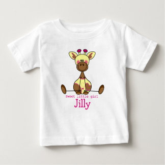 T-shirt with own name and illustration lief
