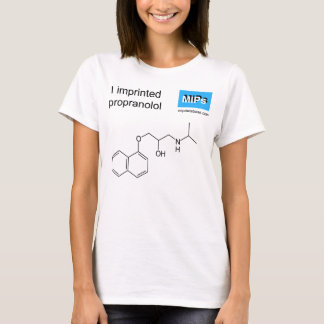 T-shirt with propranolol template molecule
