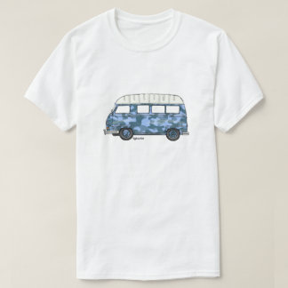 T-shirt with Renault Estafette in blue