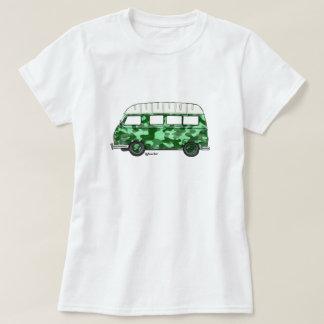 T-shirt with Renault Estafette in mintgroen