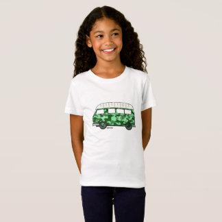 T-shirt with Renault Estafette in mintgroen camo