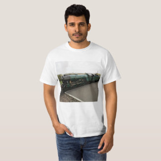 T-Shirt with Steam Train Picture