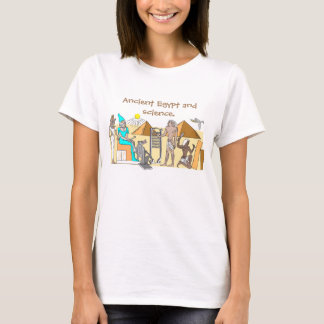 T-shirt with the image of Ancient Egypt.