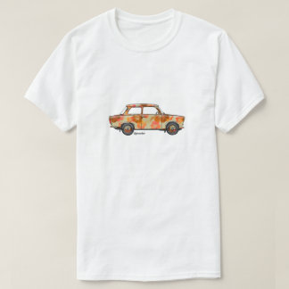 T-shirt with tropical Trabi