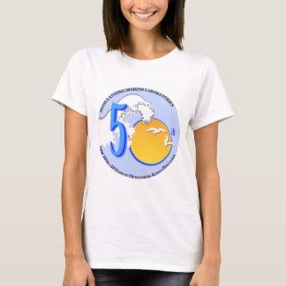 T-shirt (Women's): Basic, MLML 50th round wave/sun