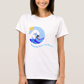 T-shirt (Women's): Basic, MLML 50th wave (simple)