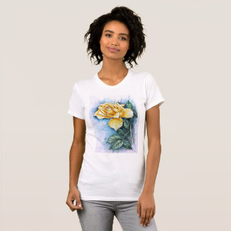 T-SHIRT - YELLOW ROSE