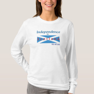 T Shirt Yes We Can Independence for Scotland