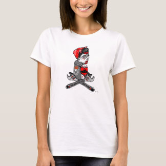 T-shirt Zombie Rockerbilly girls club - Bee & Bone