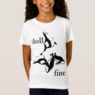 T-SHIRTS - Doll fine With dolphins, Apparel