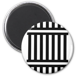 t-shirts n gifts BNW Rail Train Track graphic 6 Cm Round Magnet