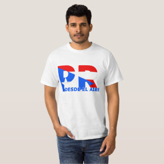 T Shirts Puerto Rico From the Air
