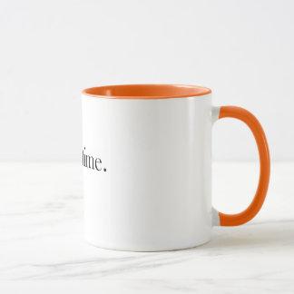T Time Mug