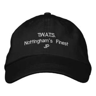 T.W.A.T.S.Nottingham's Finest Embroidered Hats