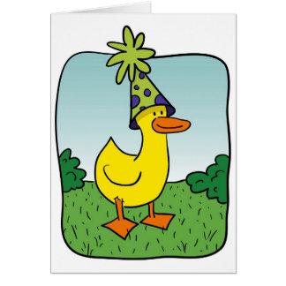 T.W. Duck 1 Card