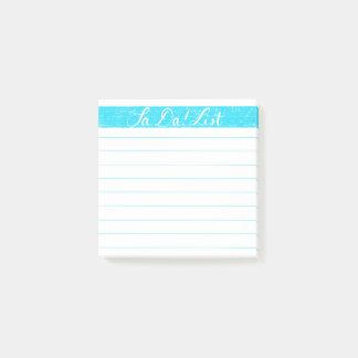 Ta-Da! List/Checklist Post-it Notes, Handlettered Post-it Notes