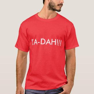 TA-DAH!!!- Mens T-shirt in dark colors