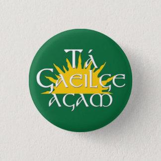 Ta Gaeilge Agam 3 Cm Round Badge